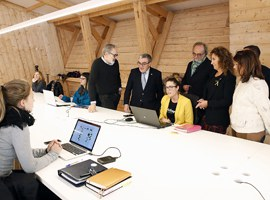 En marxa la Casa de Fusta, un nou espai de coworking per a emprenedors situat al Centre Històric