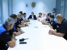 Imatge de la notícia L'alcalde encarrega una reorganització interna de la Guàrdia Urbana i patrulles a peu permanents al Centre Històric i la Mariola