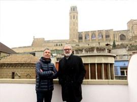 L'alcalde Larrosa referma l'aposta de la Paeria per la regeneració urbana al Centre Històric