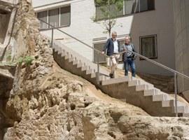 S'obre el pas al carrer del General després de les obres de reurbanització