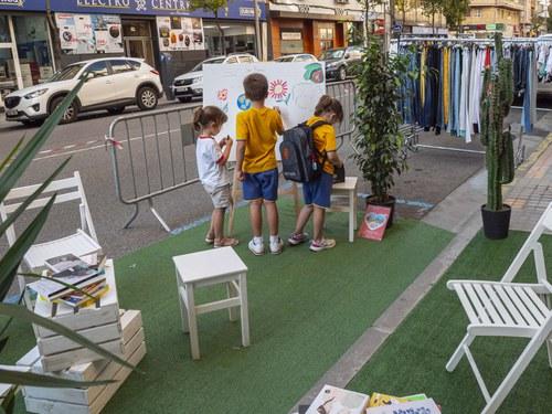 Imatge de la notícia El Parking Day dona inici a la Setmana Europea de la Mobilitat a Lleida