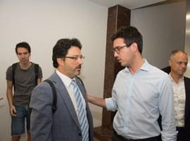El tinent d'alcalde Antoni Postius veu l'ampliació del CIM Lleida com una gran oportunitat per les polítiques industrials que impulsa el govern municipal