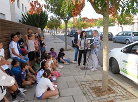 Els alumnes de l'escola Ciutat Jardí aprenen què és la contaminació acústica i la necessitat d'una mobilitat més sostenible