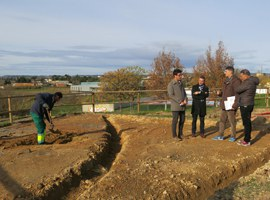 L'Ajuntament de Lleida inicia la millora paisatgística dels miradors del Secà de Sant Pere
