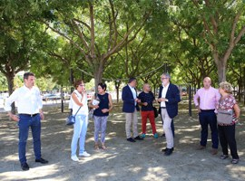Imatge de la notícia L'Ajuntament de Lleida segueix avançant en la millora de l'arbrat i la jardineria de la ciutat