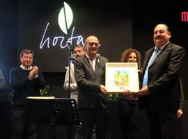 L'alcalde Miquel Pueyo destaca la importància de l'Horta de Lleida i posa en valor la tasca dels seus homes i dones
