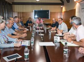 L'alcalde Miquel Pueyo es reuneix amb la comissió de l'Horta de la FAVLL