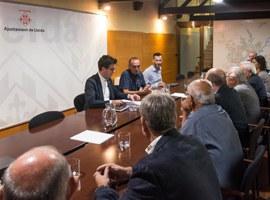 La Paeria crearà un grup de treball amb els empresaris per millorar les infraestructures del Polígon Industrial El Segre