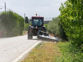Imatge de la notícia La Paeria desbrossa els vorals d'onze dels camins principals de l'Horta