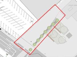 Imatge de la notícia La Paeria dotarà d'ombra i arbres l'accés a la passarel·la de l'estació de trens