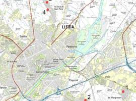 La Paeria inicia la millora de diversos passos elevats a Lleida