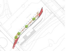 La Paeria millora la mobilitat per a vianants i bicicletes a l'entorn de la bàscula municipal de l'Avinguda del Segre