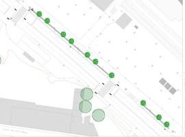 La Paeria millorarà la parada de taxi de l'estació de tren de Lleida