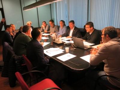 La Paeria presenta recurs de revisió d'ofici davant la CHE de les obres de modernització del canal de Pinyana