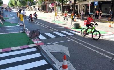 Lleida pren els carrers amb la celebració de l'Open Street Day