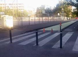 Imatge de la notícia Millora de la seguretat vial a l'entorn de l'Escola Francesco Tonucci