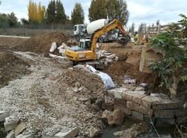 Imatge de la notícia Obres d'emergència per reparar els camins danyats per la crescuda del Torrent de la Femosa i la Riera de les Canals