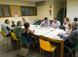 Reunió amb la junta de l'Associació de veïns de Llívia per tractar sobre el parc de gossos