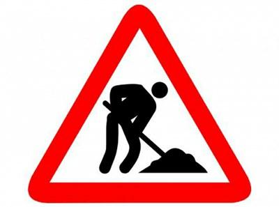 Tall de trànsit per obres al Camí Vell d'Alpicat, dijous 18 i divendres 19