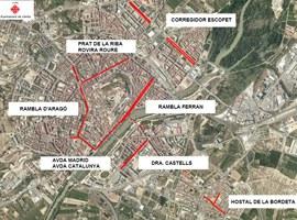 Talls de circulació de carrers i alteració en el servei d'Autobusos de Lleida amb motiu del Dia sense Cotxes