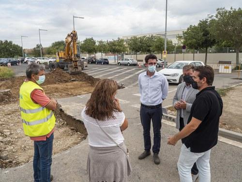 Imatge de la notícia Actuació de millora del paviment al carrer José Olondriz i a l'accés a l'escola Països Catalans