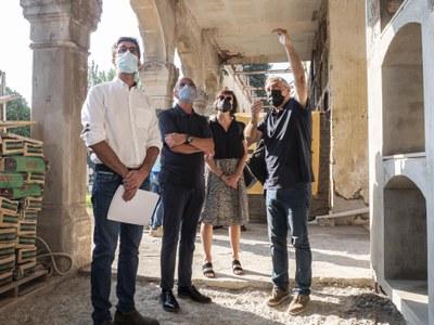 Avança la construcció de 45 nous nínxols al departament de Santa Cecília