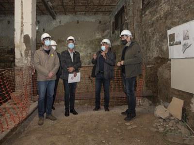 Continuen les obres del nou Museu d'Art de Lleida que preveu obrir entre el 2022 i el 2023