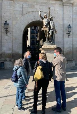 El conjunt escultòric d'Indíbil i Mandoni viatjarà a Barcelona per a la seva restauració