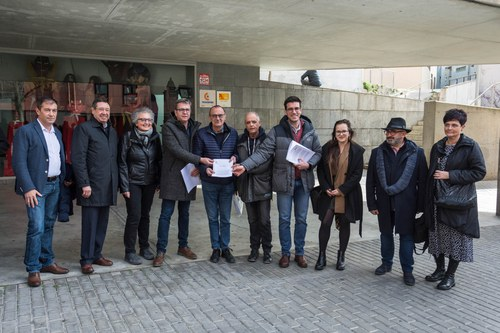 Imatge de la notícia Front comú d'institucions, agents socials i usuaris de l'AVANT per millorar el servei de l'alta velocitat a Lleida