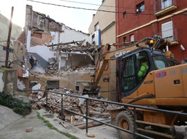 L'EMU enderroca un edifici al carrer Galera per construir fins a 11 habitatges de lloguer per a joves