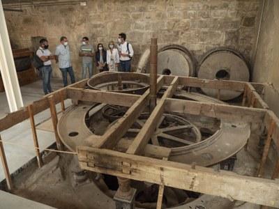 La Paeria completarà l'adequació del Molí de Sant Anastasi per a poder donar-li ús com a equipament