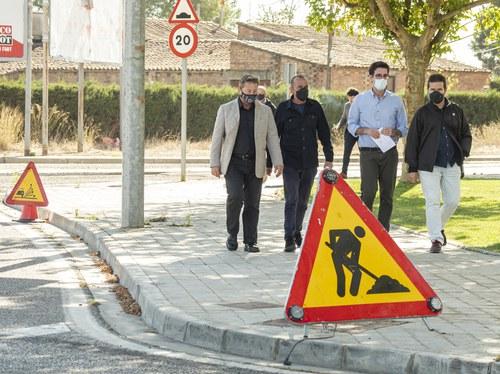 Imatge de la notícia La Paeria enceta la millora dels accessos per carretera a la ciutat
