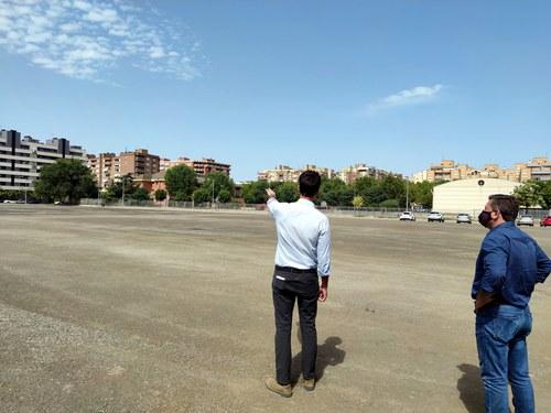 Imatge de la notícia La Paeria finalitza la primer fase de millora del paviment dels aparcaments provisionals gratuïts