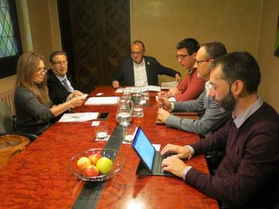 La Paeria i FERRMED, un dels lobbies ferroviaris més importants d'Europa, reactiven les seves relacions per impulsar el potencial logístic de Lleida