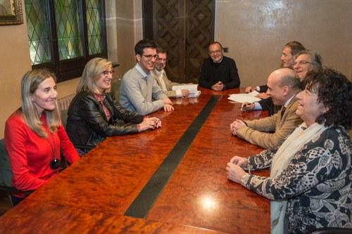 Imatge de la notícia La Paeria i la Fundació Ilersis signen la cessió d'un terreny municipal per fer-hi un nou centre especial de treball per a persones amb discapacitats