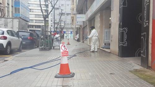 Imatge de la notícia La Paeria incrementa el servei de neteja a Lleida