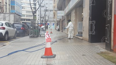 La Paeria incrementa el servei de neteja a Lleida
