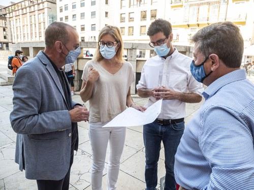 Imatge de la notícia La Paeria renova la xarxa de videovigilància de l'Eix Comercial
