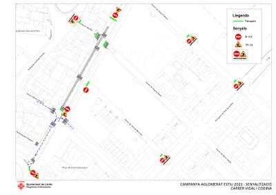 Millora del paviment al carrer Vidal i Codina de Pardinyes aquest divendres