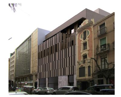 Pla de millora urbana per al solar de Blondel 94/Sant Antoni 33
