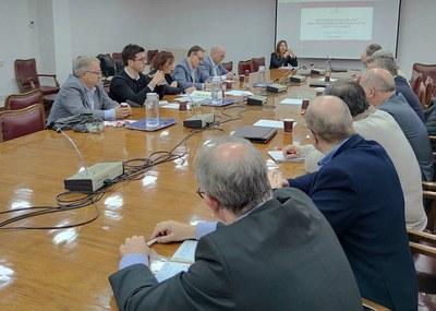 Postius referma la voluntat d'impulsar Lleida com un gran centre logístic