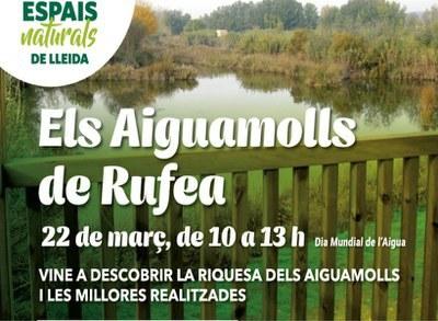 ACTIVITAT SUSPESA - Celebra el dia de l'Aigua als Aiguamolls de Rufea!