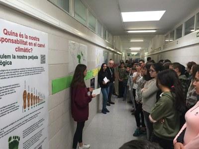 Calculant la petjada ecològica de l'INS Guindàvols