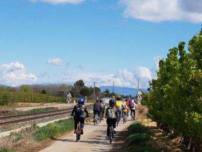 Imatge del event Ecodescoberta. Amb bici per la Mitjana i l'Horta de Granyena