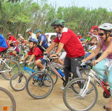 Imatge del event Ecodescoberta. El camí del riu amb bicicleta: de la Mitjana a Butsènit