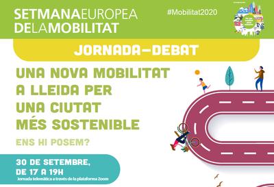 """Jornada-debat """"Una nova mobilitat a Lleida per una ciutat més sostenible"""""""