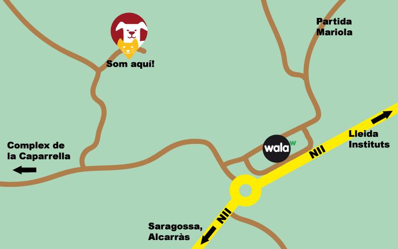 Mapa CAAC
