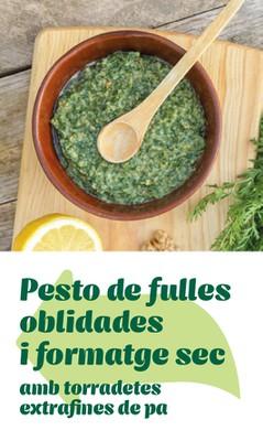 Pesto i torradetes