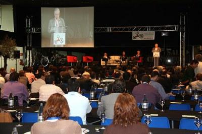 Àngel Ros inaugura el Congrés de la Bicicleta