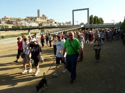 El Camí del Riu s'ofereix a centenars de lleidatans